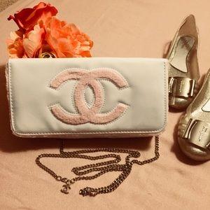 AUTH Chanel VIP Clutch/Crossbody